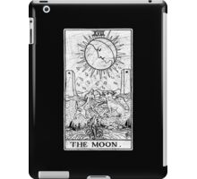 The Moon Tarot Card - Major Arcana - fortune telling - occult iPad Case/Skin