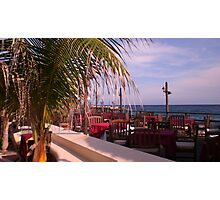 Seaview dining Photographic Print