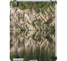 Cliff Reflections in Water - Waterscape iPad Case/Skin