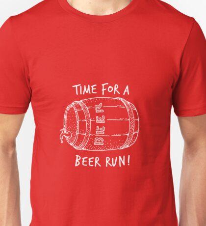 Time For A Beer Run Shirt Unisex T-Shirt