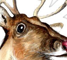 Rudolf the red nosed Reindeer Sticker