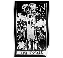 Tarot Card - Major Arcana - fortune telling - occult Poster