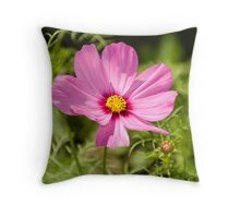 Pink in Paris Throw Pillow