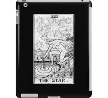 The Star Tarot Card - Major Arcana - fortune telling - occult iPad Case/Skin