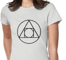 Lemurian Alchemy Seal of Manifestation Womens Fitted T-Shirt