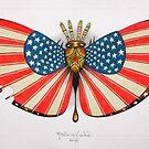 patriot moth - original sold by federico cortese