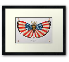 patriot moth - original sold Framed Print