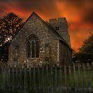 Old Burham Church by Dave Godden