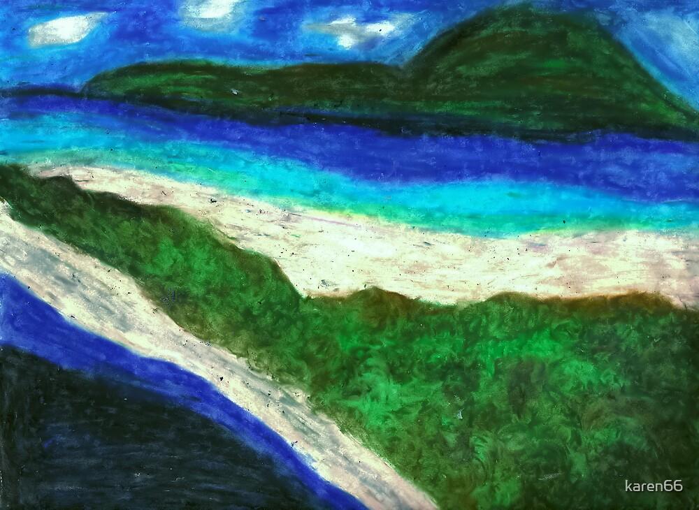 Bora Bora Beach by karen66