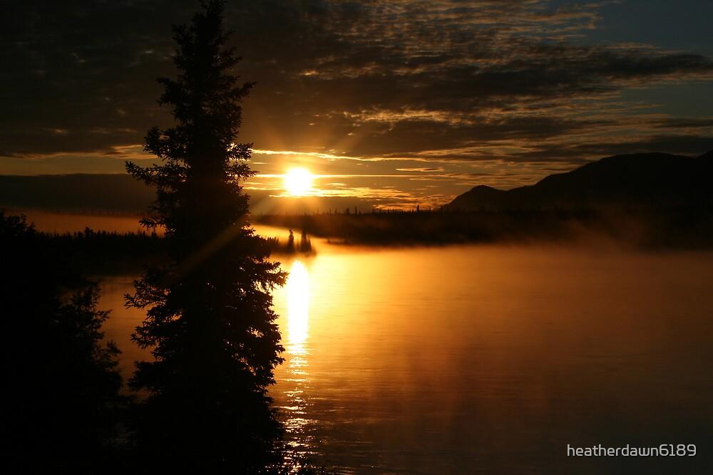 Brilliant Sunset (II) by heatherdawn6189