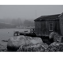 The Fishing Shack Photographic Print