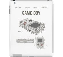 Gameboy Patent iPad Case/Skin