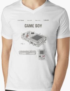 Gameboy Patent Mens V-Neck T-Shirt