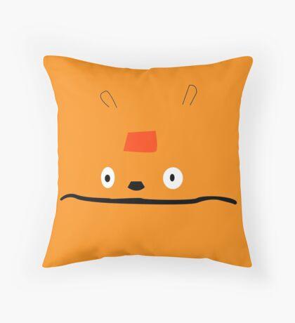Glottis  Throw Pillow
