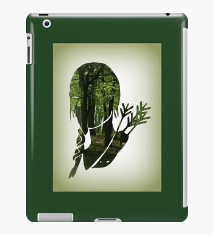 Katniss Everdeen in the Woods iPad Case/Skin