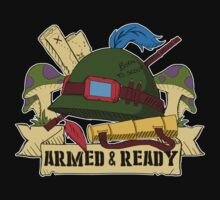 Armed and Ready - Teemo tattoo style by linkitty