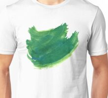 Green Painted Paper Unisex T-Shirt