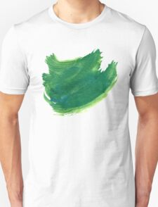 Green Painted Paper T-Shirt
