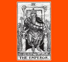 The Emperor Tarot Card - Major Arcana - fortune telling - occult Kids Clothes
