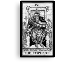 The Emperor Tarot Card - Major Arcana - fortune telling - occult Canvas Print