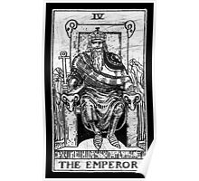 The Emperor Tarot Card - Major Arcana - fortune telling - occult Poster