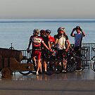 Cyclists at Rest by wiggyofipswich