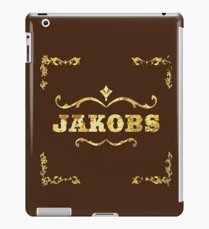Jakobs gold leaf design  iPad Case/Skin