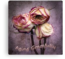 Aging Gracefully Canvas Print