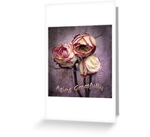 Aging Gracefully Greeting Card
