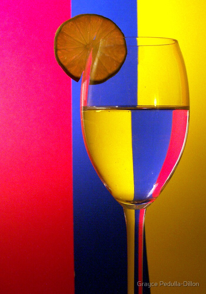 Refraction with Lime by Grayce Pedulla-Dillon