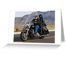Toy Run Albuquerque Bikers Greeting Card