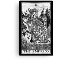 The Empress Tarot Card - Major Arcana - fortune telling - occult Canvas Print