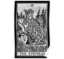 The Empress Tarot Card - Major Arcana - fortune telling - occult Poster