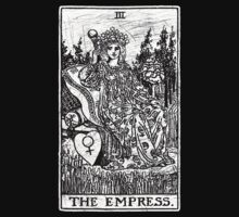 The Empress Tarot Card - Major Arcana - fortune telling - occult Kids Clothes