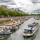 Paris: Canal Saint Martin by David Mapletoft