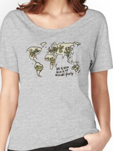 Let it grow, Mix it up, Divide Fairly Women's Relaxed Fit T-Shirt