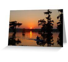 Day's End at Lake Martin Greeting Card
