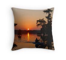 Day's End at Lake Martin Throw Pillow