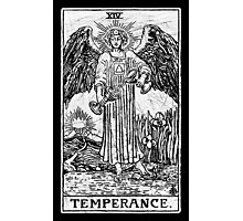 Temperance Tarot Card - Major Arcana - fortune telling - occult Photographic Print