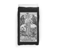 Temperance Tarot Card - Major Arcana - fortune telling - occult Duvet Cover