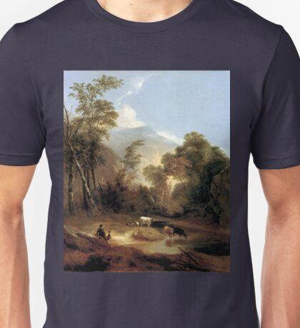 Alvan Fisher Pastoral Landscape Unisex T-Shirt