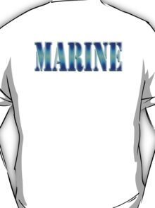 MARINE, Sea Soldier, Jar Head, Army, Soldier, T-Shirt