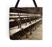 Peaceful Benches Tote Bag