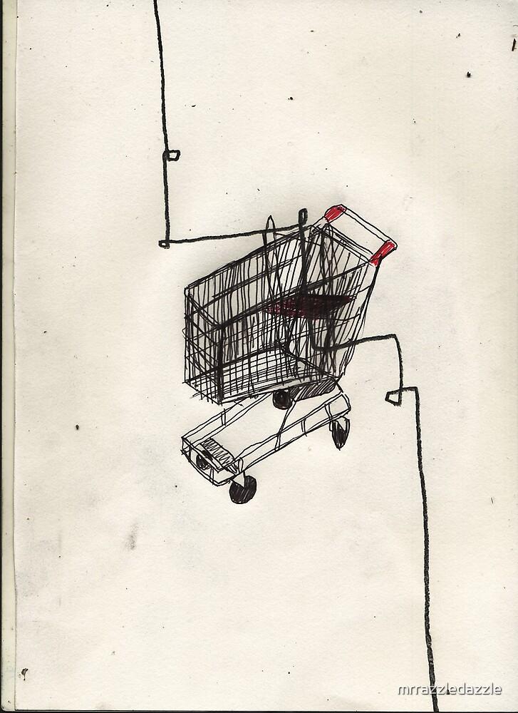 shopping trolley by mrrazzledazzle