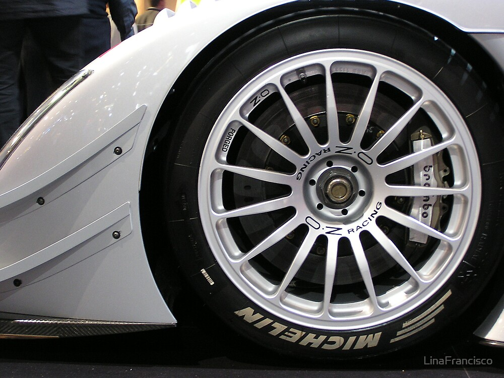 Essen Car Show Wheelie by LinaFrancisco
