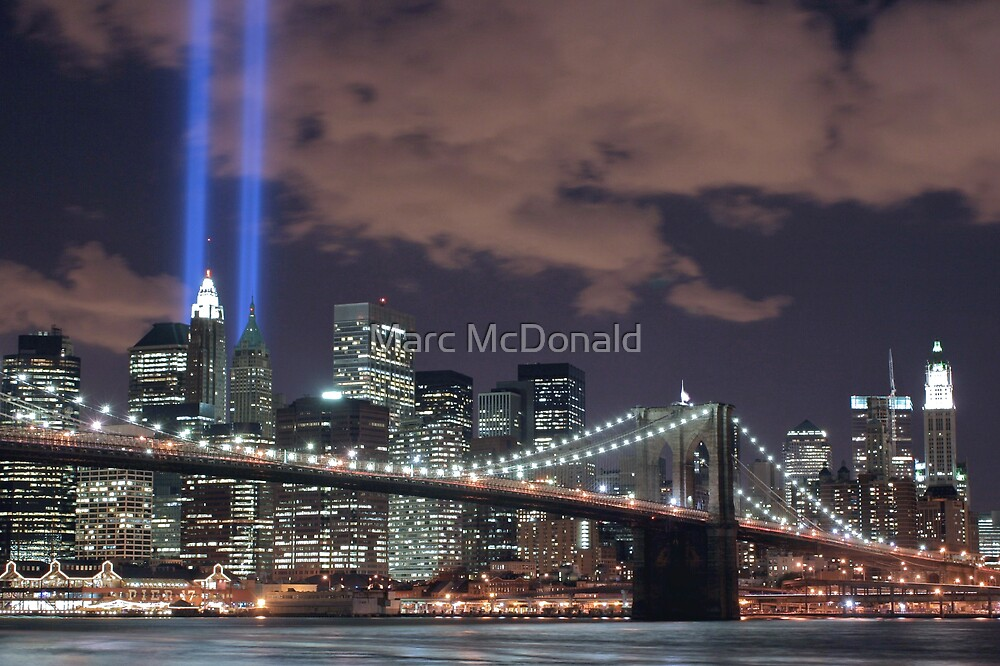 Tribute in Light by Marc McDonald