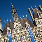 Paris: Hotel de Ville by David Mapletoft