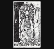 The High Priestess Tarot Card - Major Arcana - fortune telling - occult by createdezign