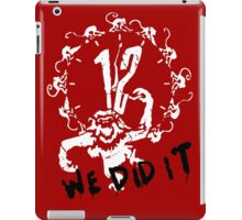 Twelve Monkeys iPad Case/Skin