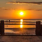 Sunset on a UK Beach by Pixie Copley LRPS